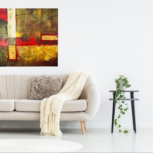 Oil On Canvas – Vibrant Glory